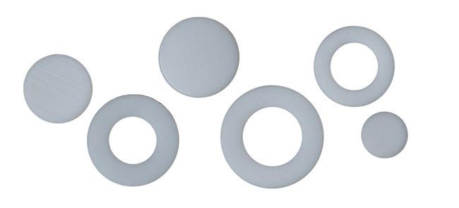 聚四氟乙烯墊片、聚四氟乙烯墊圈、聚四氟乙烯止擋片、實心墊片、特氟龍介子、鐵氟龍介子、塑料王墊片、四氟墊片、F4墊片等